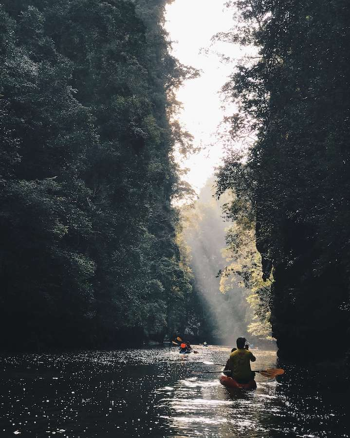 kayaking krabi