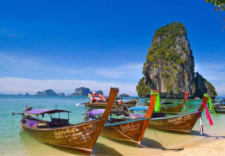 krabi long tail boats
